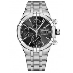 Maurice Lacroix AIKON AI6038-SS002-330-1 Automatic Chronograph 44mm