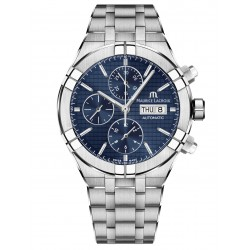 Maurice Lacroix AIKON AI6038-SS002-430-1 Automatic Chronograph 44mm